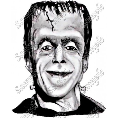Herman Munster T Shirt Iron on Transfer Decal #1 by www.shopironons.com