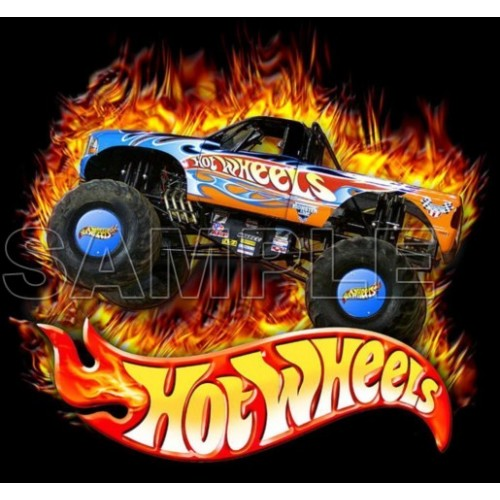 Hot Wheels T Shirt Iron on Transfer Decal #1 by www.shopironons.com