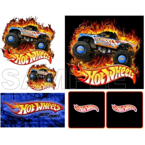 Hot Wheels T Shirt Iron on Transfer Decal #2 by www.shopironons.com