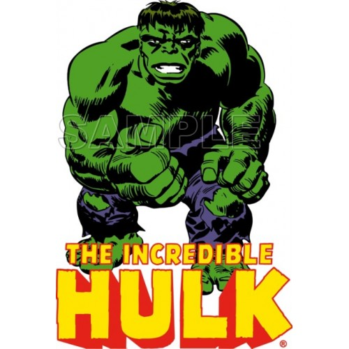 Hulk T Shirt Iron on Transfer Decal #1 by www.shopironons.com
