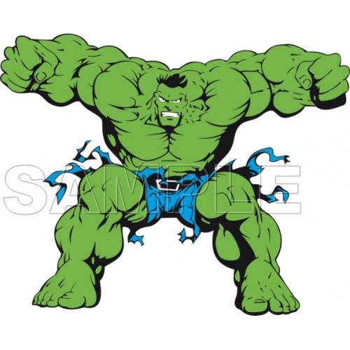 Hulk T Shirt Iron on Transfer Decal #2 by www.shopironons.com