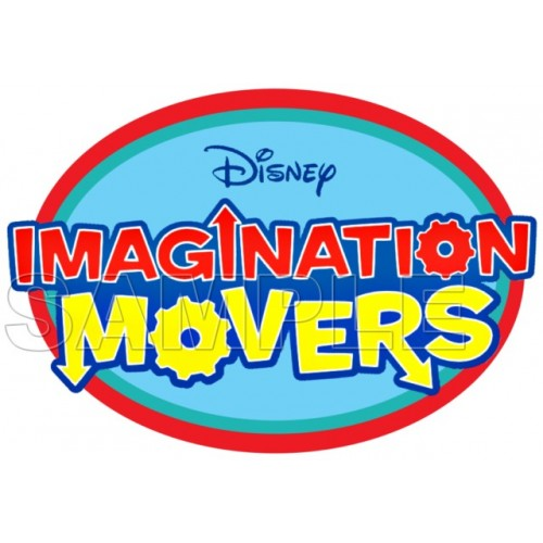 Imagination Movers Logo T Shirt Iron on Transfer Decal #4 by www.shopironons.com