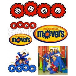 Imagination Movers T Shirt Iron on Transfer Decal #3