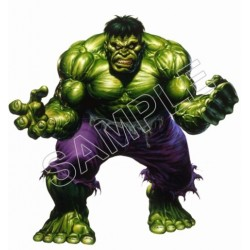 Incredible hulk T Shirt Iron on Transfer Decal #3
