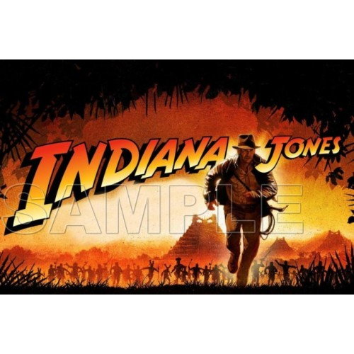 INDIANA JONES T Shirt Iron on Transfer Decal #1 by www.shopironons.com