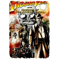 INDIANA JONES T Shirt Iron on Transfer Decal #2