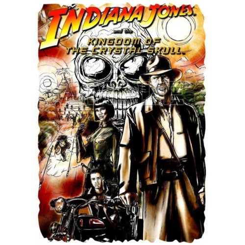 INDIANA JONES T Shirt Iron on Transfer Decal #2 by www.shopironons.com