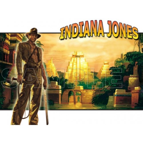 INDIANA JONES T Shirt Iron on Transfer Decal #3 by www.shopironons.com