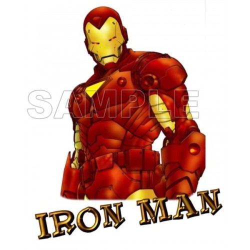Iron Man T Shirt Iron on Transfer Decal #2 by www.shopironons.com