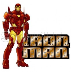 Iron Man T Shirt Iron on Transfer Decal #3