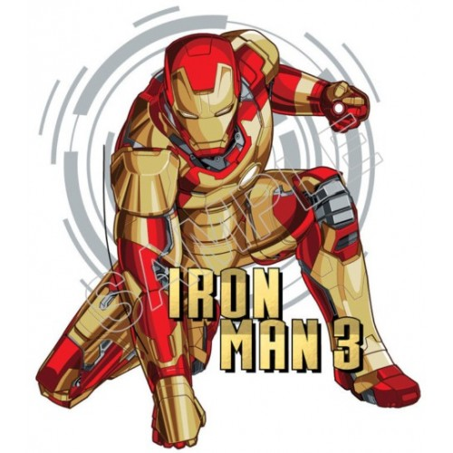Iron Man T Shirt Iron on Transfer Decal #38 by www.shopironons.com