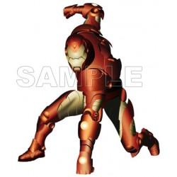 Iron Man T Shirt Iron on Transfer Decal #4