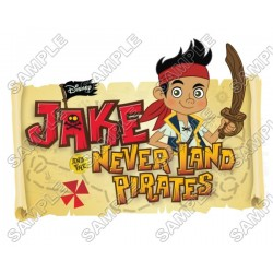 Jake and the Never Land Pirates T Shirt Iron on Transfer Decal #2