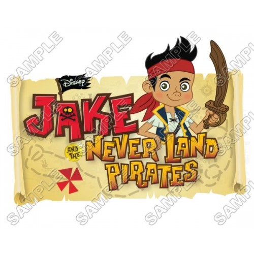 Jake and the Never Land Pirates T Shirt Iron on Transfer Decal #2 by www.shopironons.com