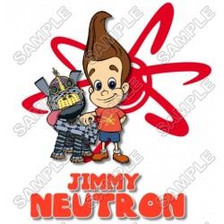 Jimmy Neutron T Shirt Iron on Transfer Decal #2