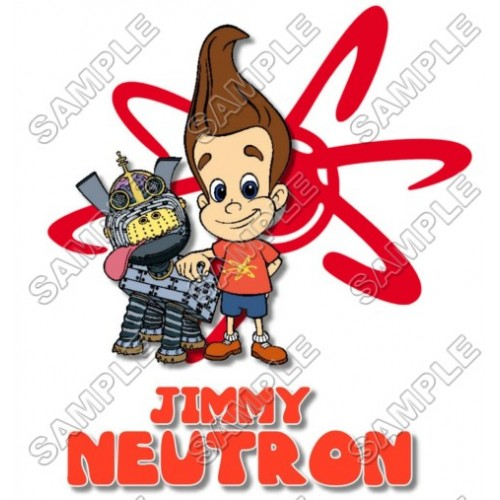 Jimmy Neutron T Shirt Iron on Transfer Decal #2 by www.shopironons.com