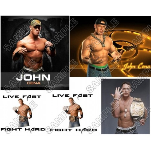 John Cena T Shirt Iron on Transfer Decal #2 by www.shopironons.com