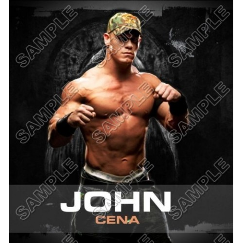 John Cena T Shirt Iron on Transfer Decal #3 by www.shopironons.com