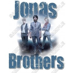 Jonas Brothers T Shirt Iron on Transfer Decal #4