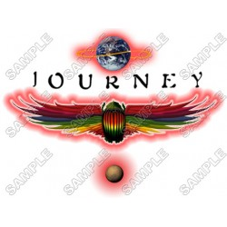 Journey (band) T Shirt Iron on Transfer Decal #1