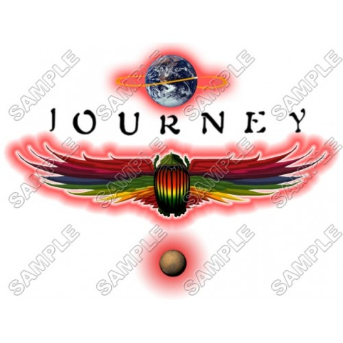 Journey (band) T Shirt Iron on Transfer Decal #1 by www.shopironons.com