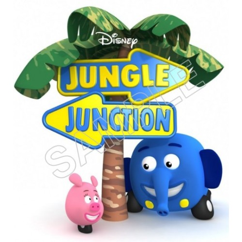 Jungle Junction T Shirt Iron on Transfer Decal #72 by www.shopironons.com