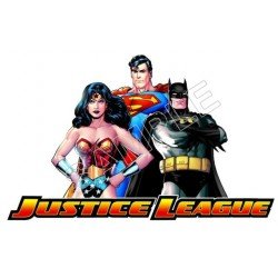 Justice League Super Heroes T Shirt Iron on Transfer Decal #5
