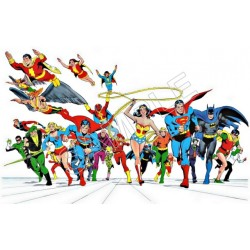 Justice League Super Heroes T Shirt Iron on Transfer Decal #97
