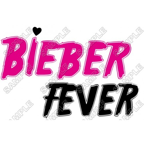Justin Bieber Fever T Shirt Iron on Transfer Decal #14 by www.shopironons.com