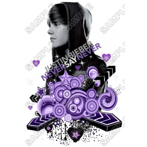 Justin Bieber T Shirt Iron on Transfer Decal #12 by www.shopironons.com