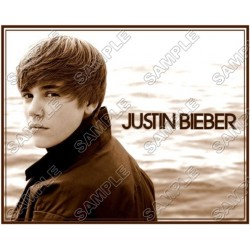 Justin Bieber T Shirt Iron on Transfer Decal #22