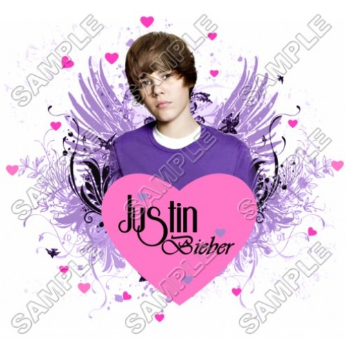 Justin Bieber T Shirt Iron on Transfer Decal #7 by www.shopironons.com