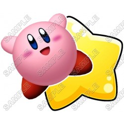 Kirby T Shirt Iron on Transfer Decal #3