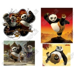 Kung Fu Panda T Shirt Iron on Transfer Decal #1