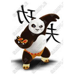 Kung Fu Panda T Shirt Iron on Transfer Decal #2