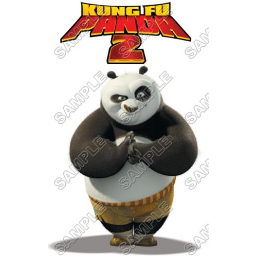 Kung Fu Panda T Shirt Iron on Transfer Decal #3 by www.shopironons.com