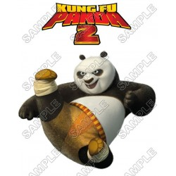 Kung Fu Panda T Shirt Iron on Transfer Decal #4