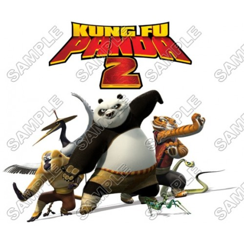 Kung Fu Panda T Shirt Iron on Transfer Decal #5 by www.shopironons.com