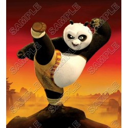 Kung Fu Panda T Shirt Iron on Transfer Decal #7
