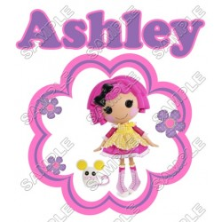 Lalaloopsy Birthday Personalized Custom T Shirt Iron on Transfer Decal #1