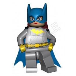 Lego Game Batman Batgirl T Shirt Iron on Transfer Decal #10