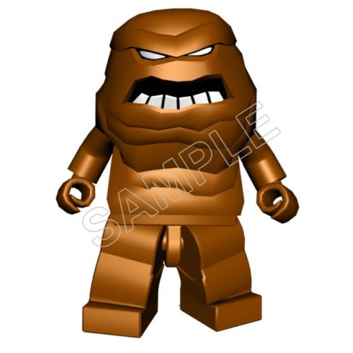 Lego Game Batman Clayface T Shirt Iron on Transfer Decal #11 by www.shopironons.com