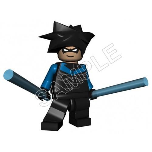 Lego Game Batman Night Wing T Shirt Iron on Transfer Decal #9 by www.shopironons.com