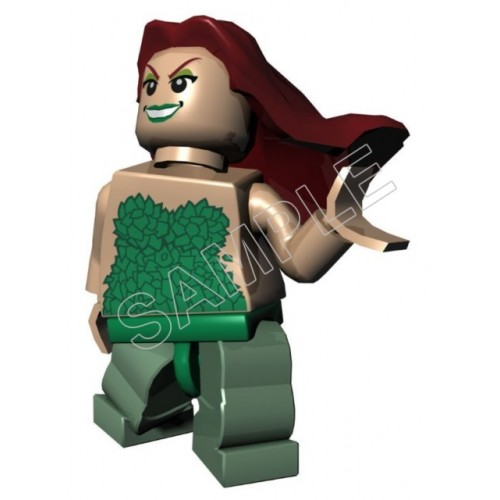 Lego Game Batman Poison Ivy T Shirt Iron on Transfer Decal #16 by www.shopironons.com