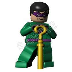 Lego Game Batman Riddler T Shirt Iron on Transfer Decal #15