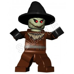 Lego Game Batman Scarecrow T Shirt Iron on Transfer Decal #14