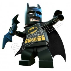 Lego Game Batman T Shirt Iron on Transfer Decal #1