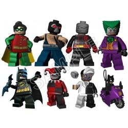 Lego Game Batman T Shirt Iron on Transfer Decal #22