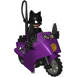 Lego Game Catwoman T Shirt Iron on Transfer Decal #3