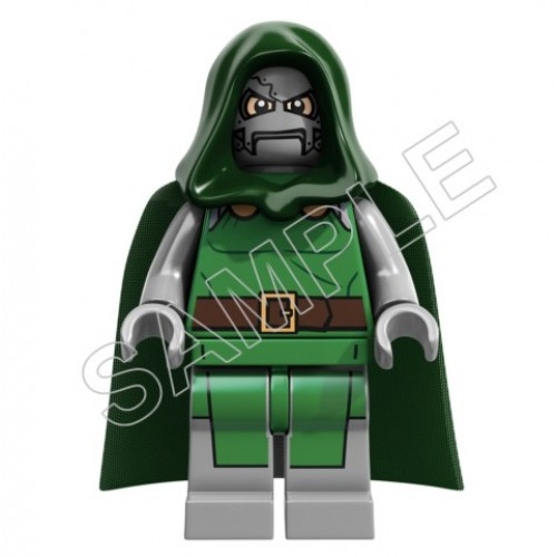 Lego Game Dr. Doom T Shirt Iron on Transfer Decal #17 by www.shopironons.com